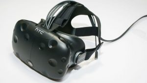 HTC Vive VR headset for gaming