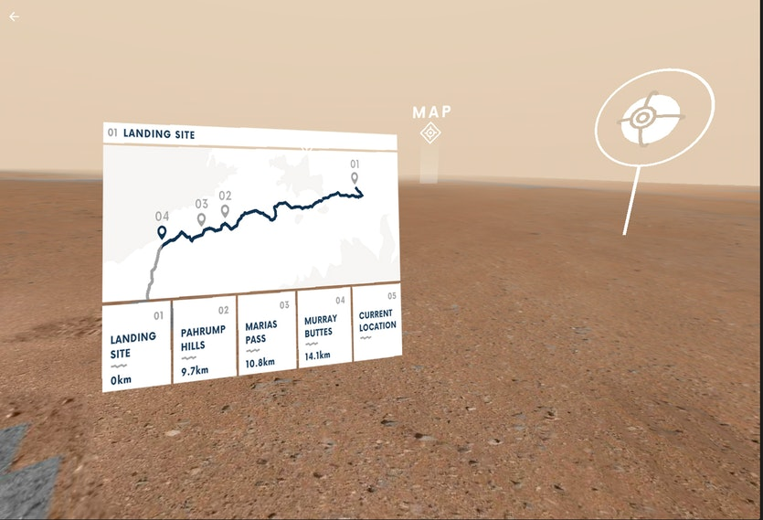 Mars Virtual Reality with NASA and Google