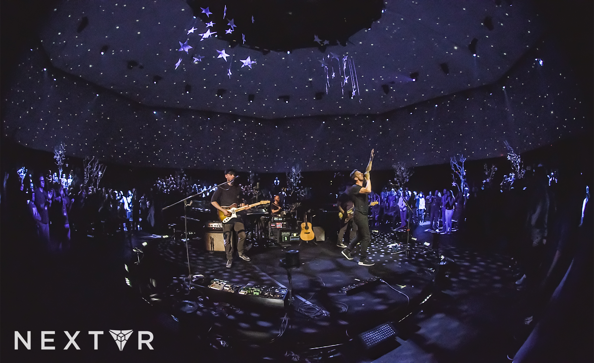 concert in full virtual reality