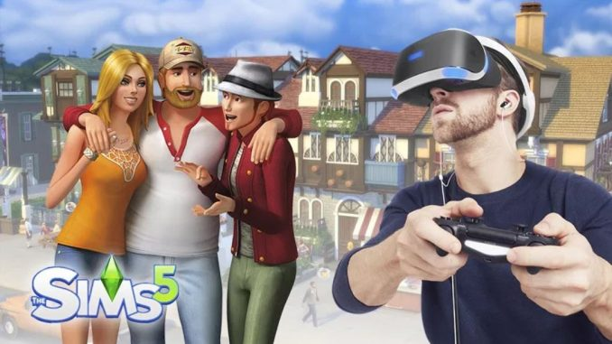 The Sims 5 in VR