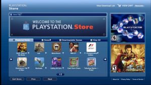 playstationstore gaming gear